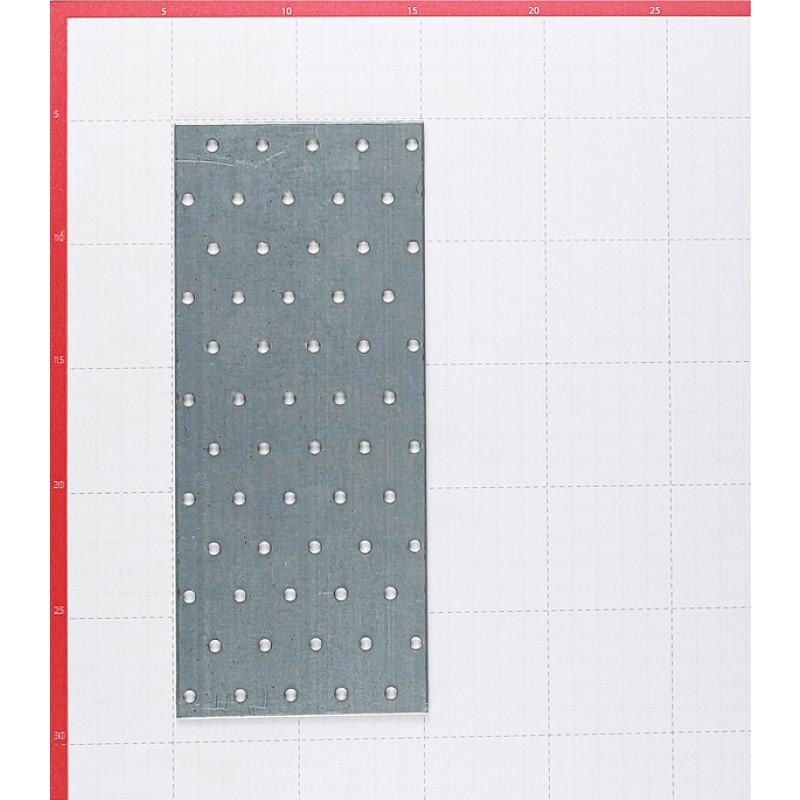 Пластина соединительная оцинкованная 240х100х1.8 мм (фото 2)