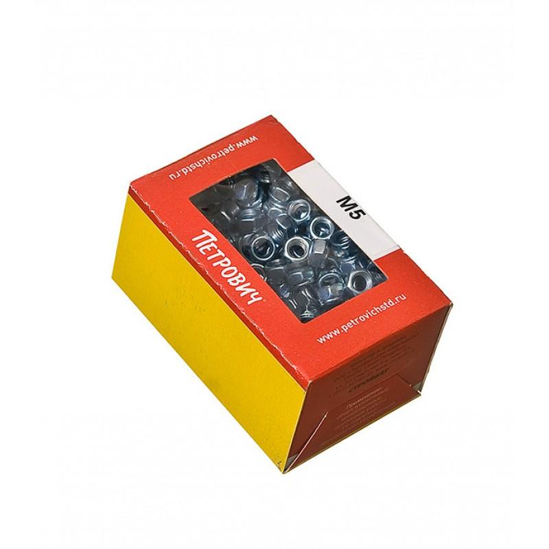 Гайка самоконтрящаяся оцинкованная M5 DIN 985 (200 шт.)