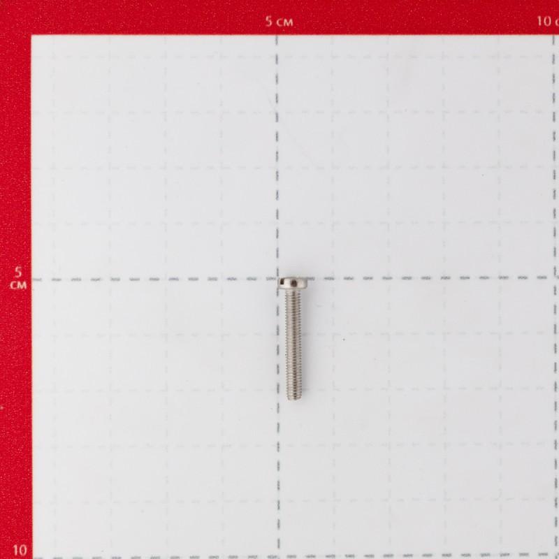 Винт нержавеющая сталь M3x20 мм DIN 84 полукруглая головка (10 шт.) (фото 3)