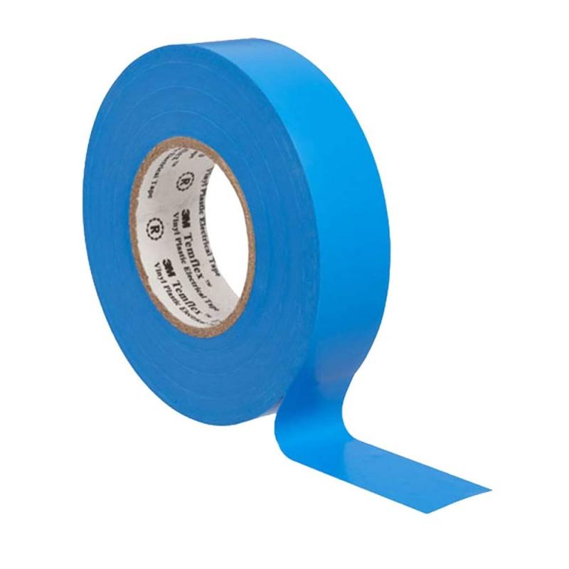 Изолента 3M Temflex 1300 ПВХ синяя 19 мм 20 м