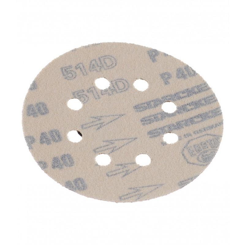 Диск шлифовальный Starcke d125 мм P40 на липучку перфорированный (5 шт.)