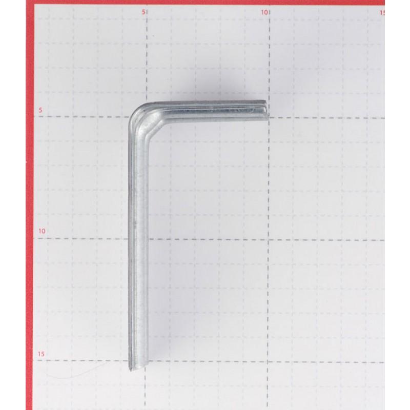 Кронштейн для вентилируемых фасадов регулируемый 100х50х50х2 мм