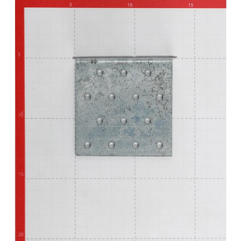 Уголок соединительный оцинкованный 80х80х80х2 мм