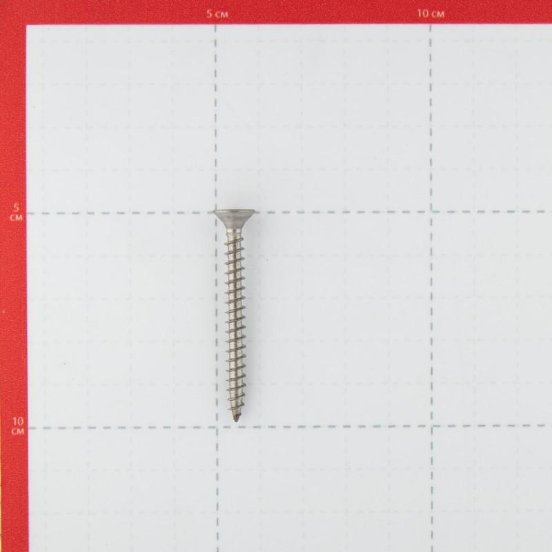 Саморезы универсальные 50x5.0 мм нержавеющая сталь (4 шт.) (фото 3)