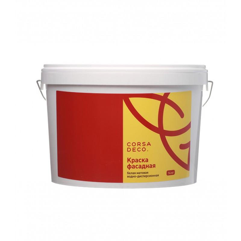 Краска водно-дисперсионная фасадная Corsa Deco 14 кг