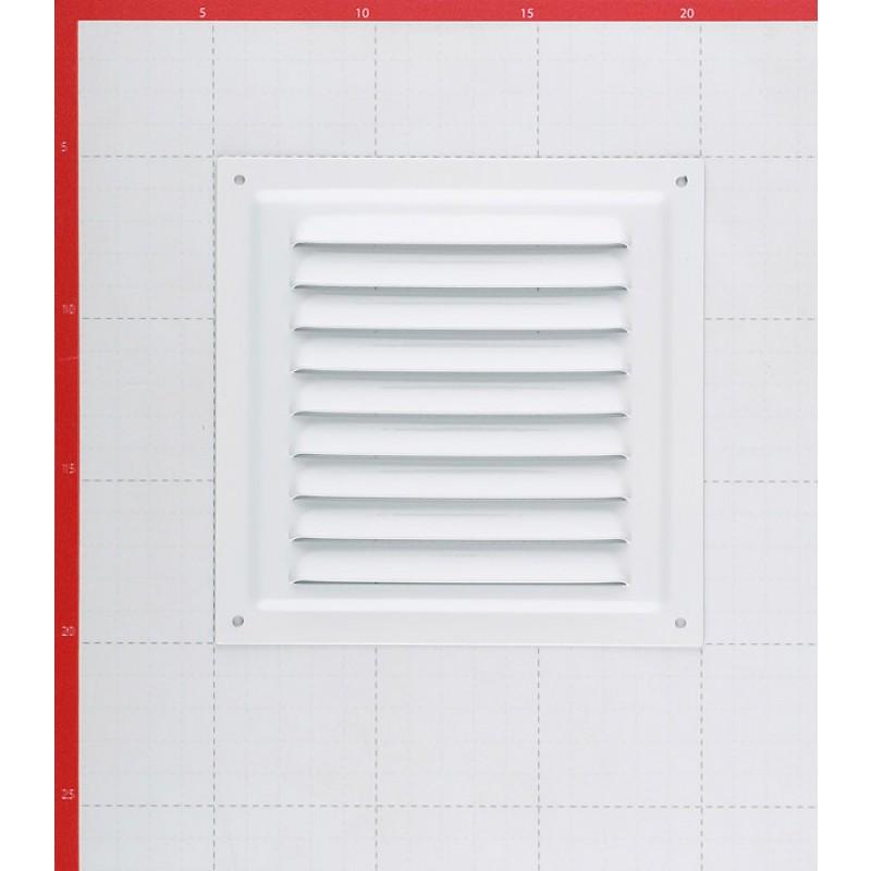 Решетка вентиляционная стальная приточно-вытяжная ERA 150х150 мм с сеткой