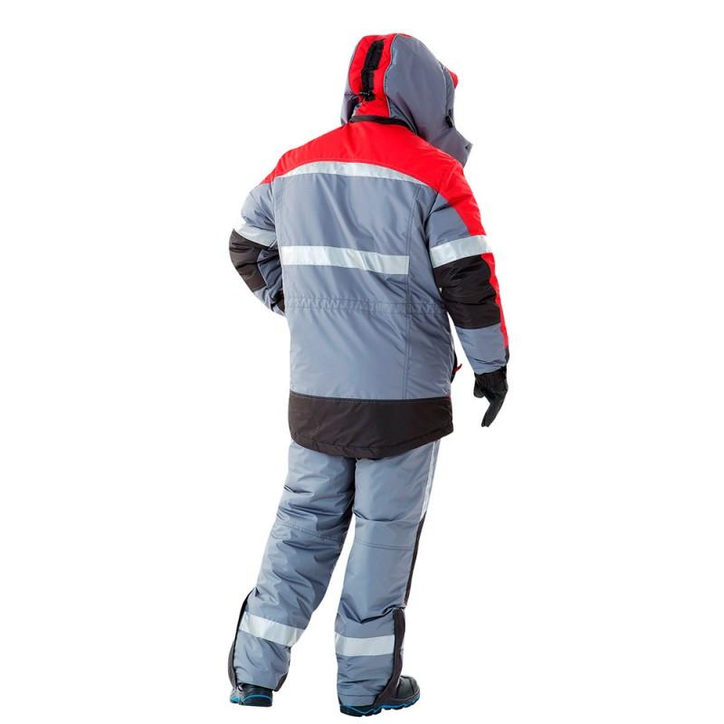 Куртка рабочая утепленная Спец 48-50 рост 182-188 см цвет серый/красный