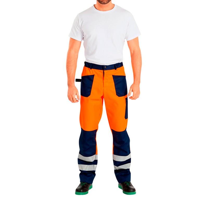 Костюм рабочий сигнальный Асфальт Мастер 52-54 рост 182-188 см цвет оранжевый