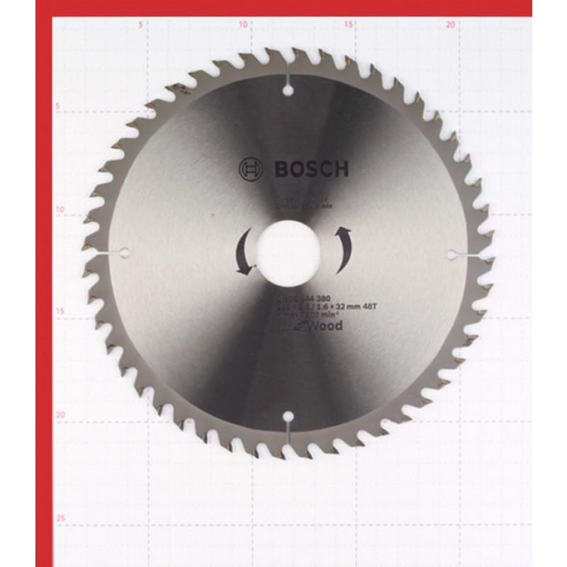 Диск пильный по дереву Bosch Optiline ECO (2608644380) 200х32х2,5 мм 48 зубьев (фото 2)