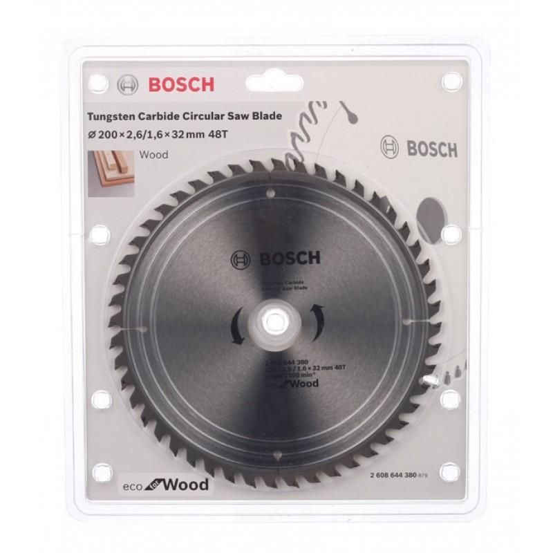 Диск пильный по дереву Bosch Optiline ECO (2608644380) 200х32х2,5 мм 48 зубьев (фото 3)