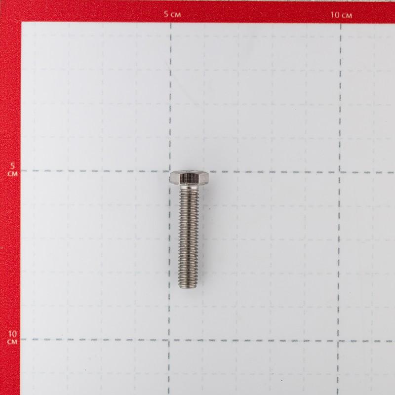 Болт нержавеющая сталь M6x30 мм DIN 933 (5 шт.) (фото 3)