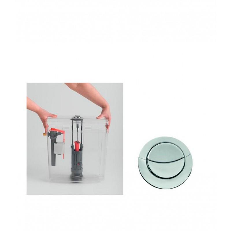 Механизм сливной двухрежимный  Wirquin ONE  3/6 L (фото 2)