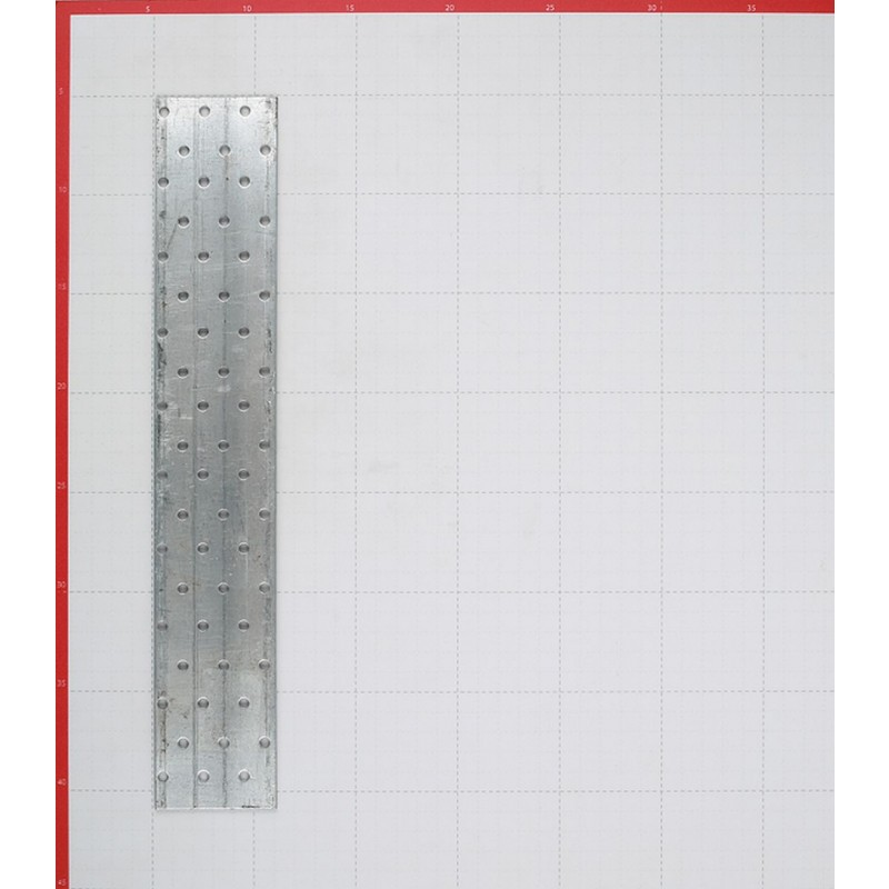Пластина соединительная оцинкованная 360х60х2.0 мм (фото 2)