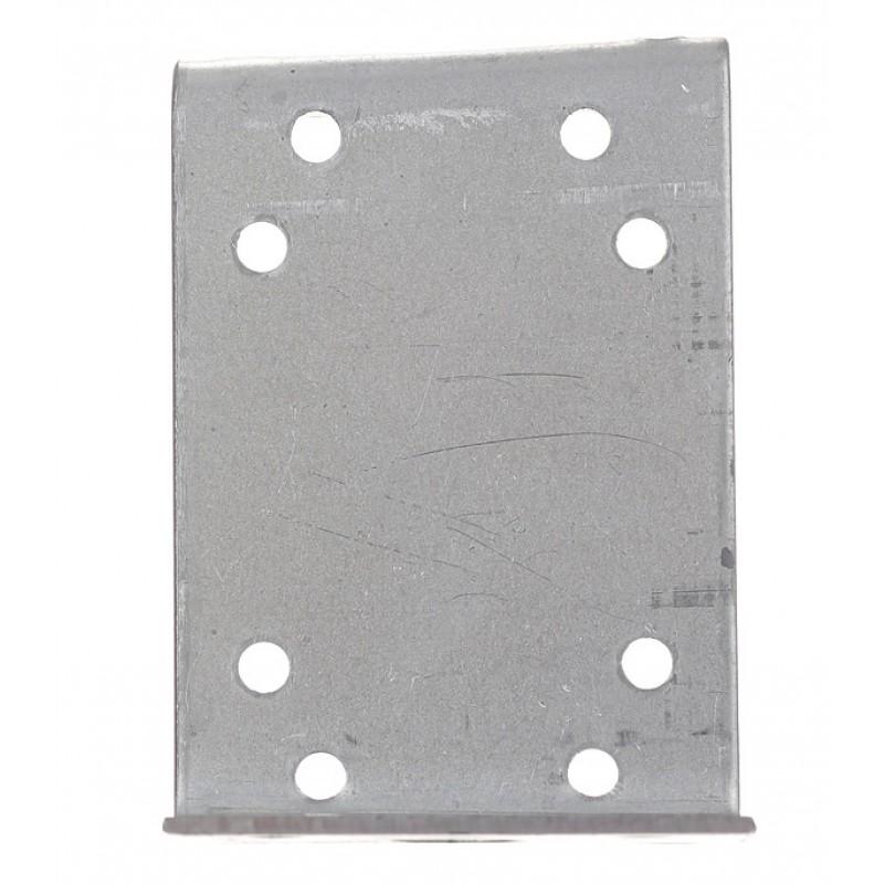 Уголок крепежный Z-образный оцинкованный 35х70х35х55х2 мм (фото 2)
