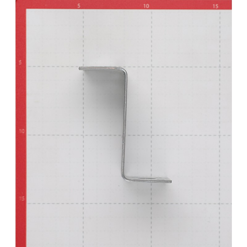 Уголок крепежный Z-образный оцинкованный 35х70х35х55х2 мм (фото 3)