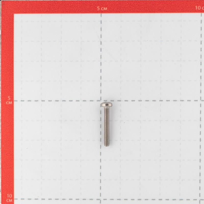 Винт нержавеющая сталь M3x20 мм DIN 7985 полукруглая головка (14 шт.)