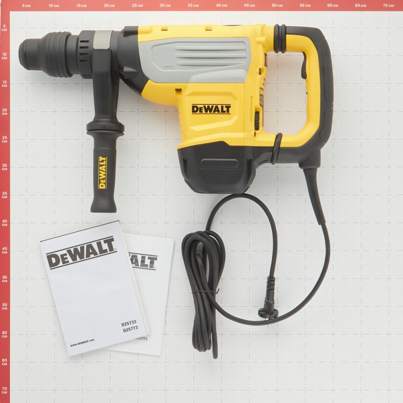 Перфоратор электрический DeWalt D25733K 1600 Вт 19,4 Дж SDS-max (фото 10)