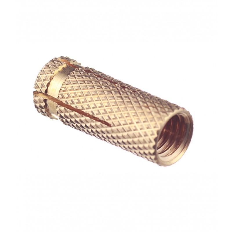 Анкер для бетона 10х35 мм латунный (50 шт.)
