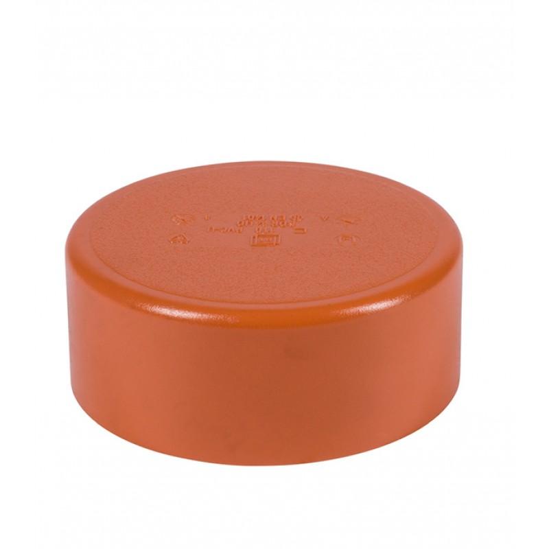 Крышка Ostendorf d110 мм пластиковая для наружной канализации