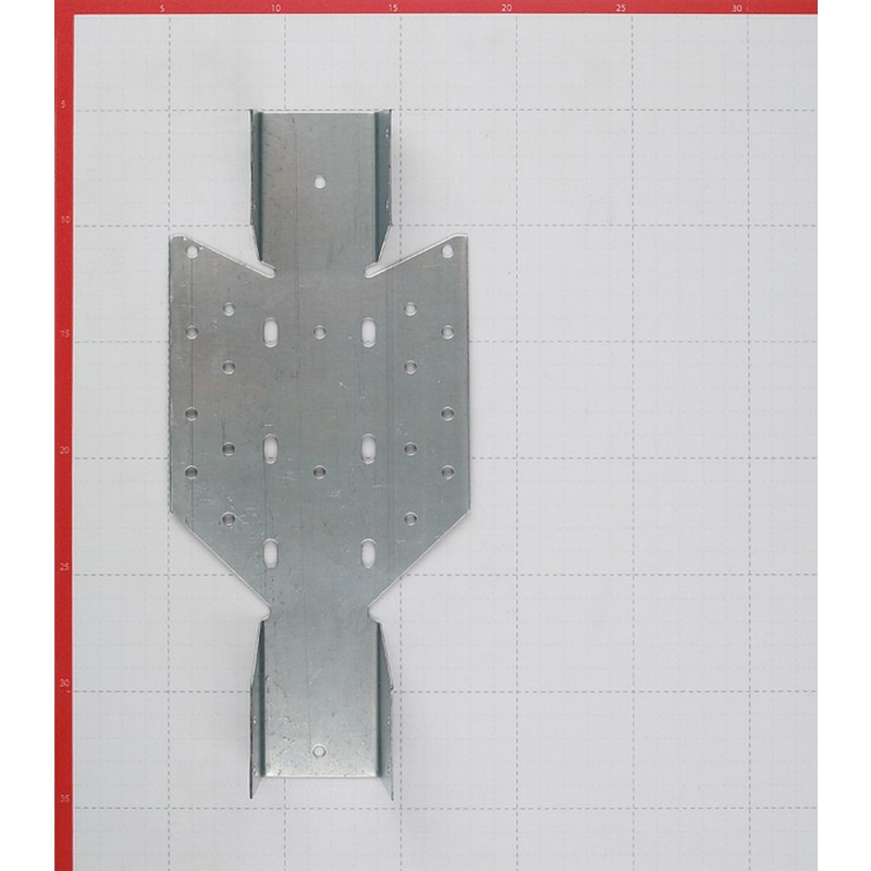 Опора балки универсальная оцинкованная 140х50х70х1 мм (фото 3)