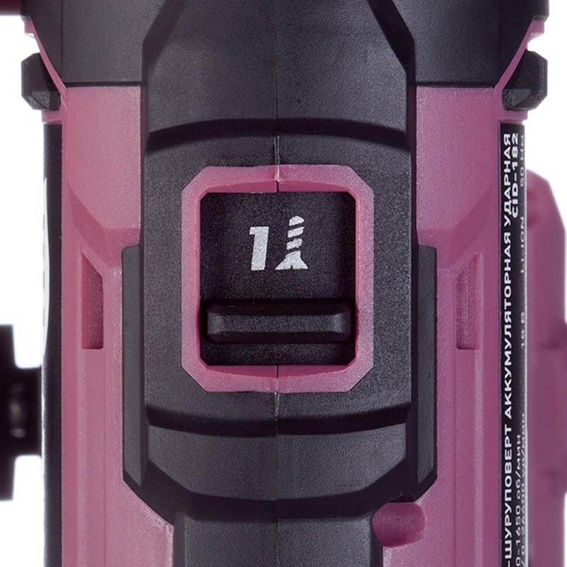Дрель-шуруповерт аккумуляторная ударная КМ АТОМ (CID-182) 18В Li-Ion без АКБ и ЗУ (фото 9)