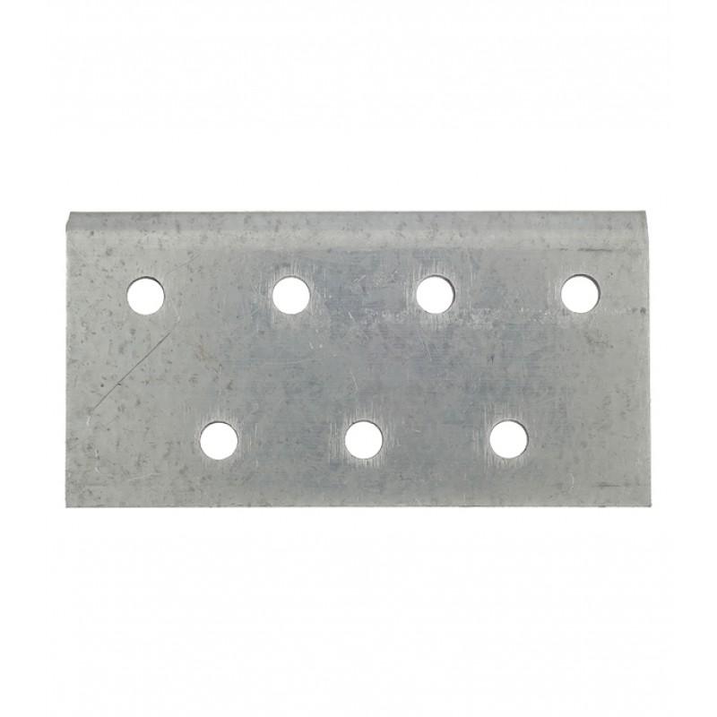 Уголок соединительный оцинкованный 40х120х80х2 мм