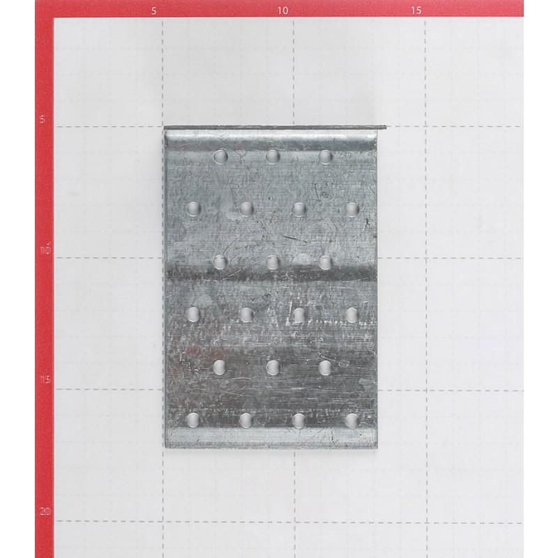 Уголок соединительный оцинкованный 40х120х80х2 мм (фото 2)