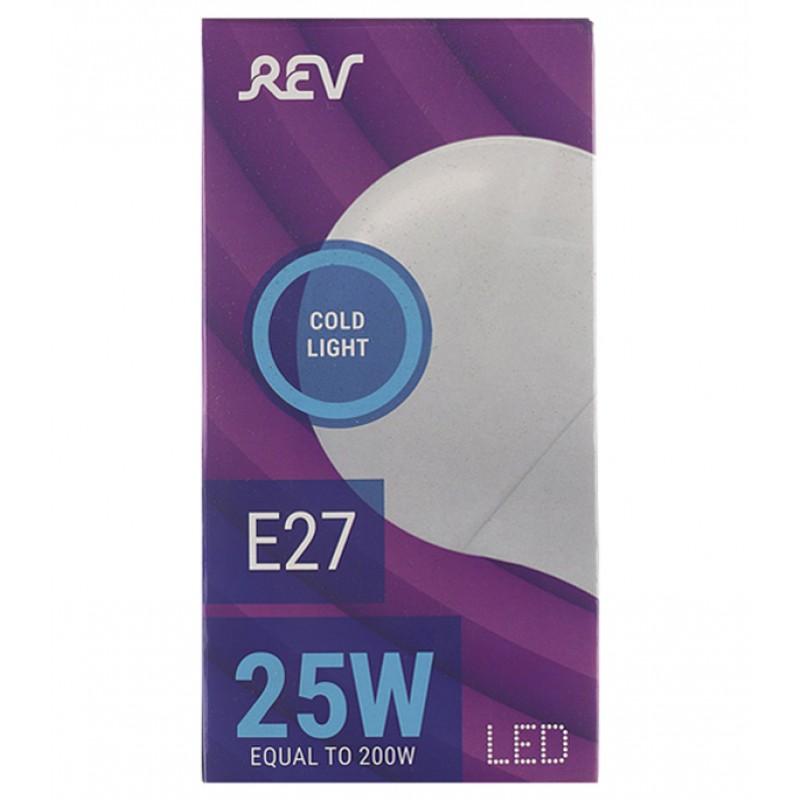 Лампа светодиодная REV 25 Вт E27 груша A70 6500К холодный белый свет 180-240 В матовая (фото 2)