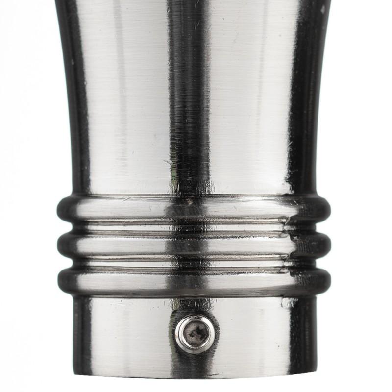 Наконечник Гиро d 20 мм серебро 2 шт.