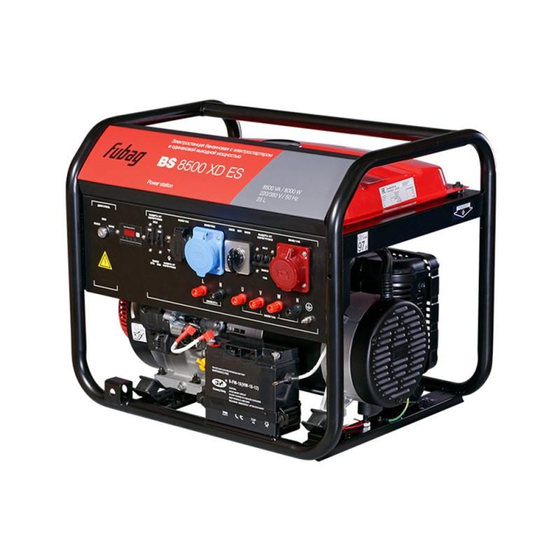 Генератор бензиновый Fubag BS8500XD ES 8,0 кВт