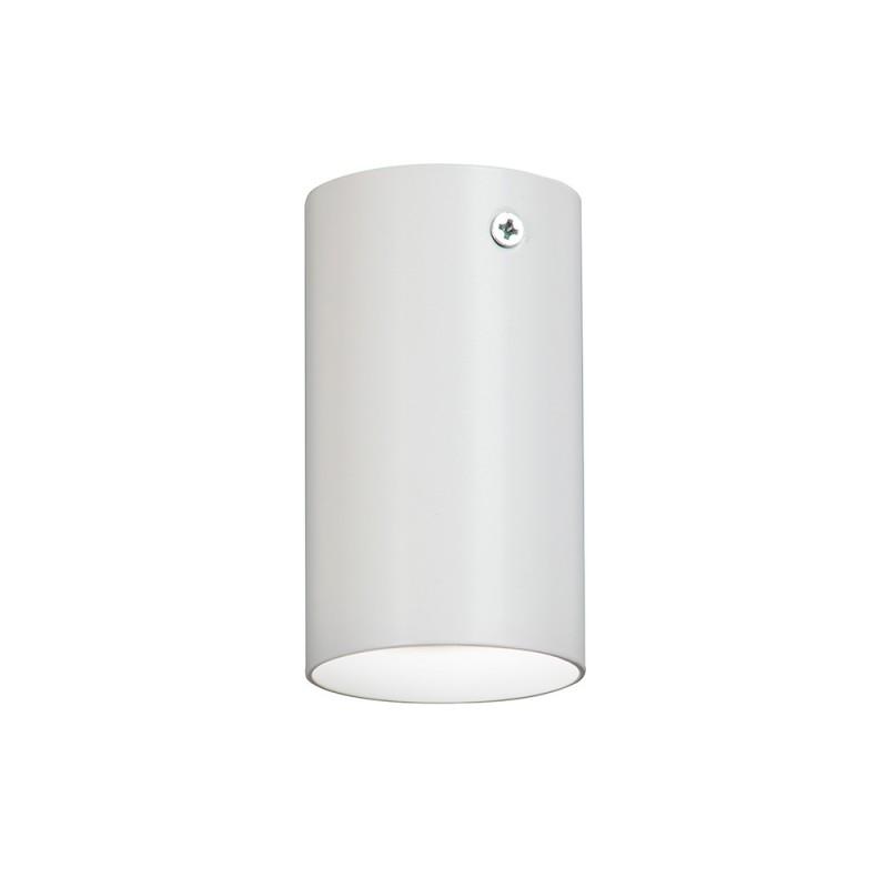 Светильник потолочный накладной Vitaluce (V4640-0/1PL, 3740) GU10 20 Вт 220 В белый цилиндрический IP20 10х60х60 мм