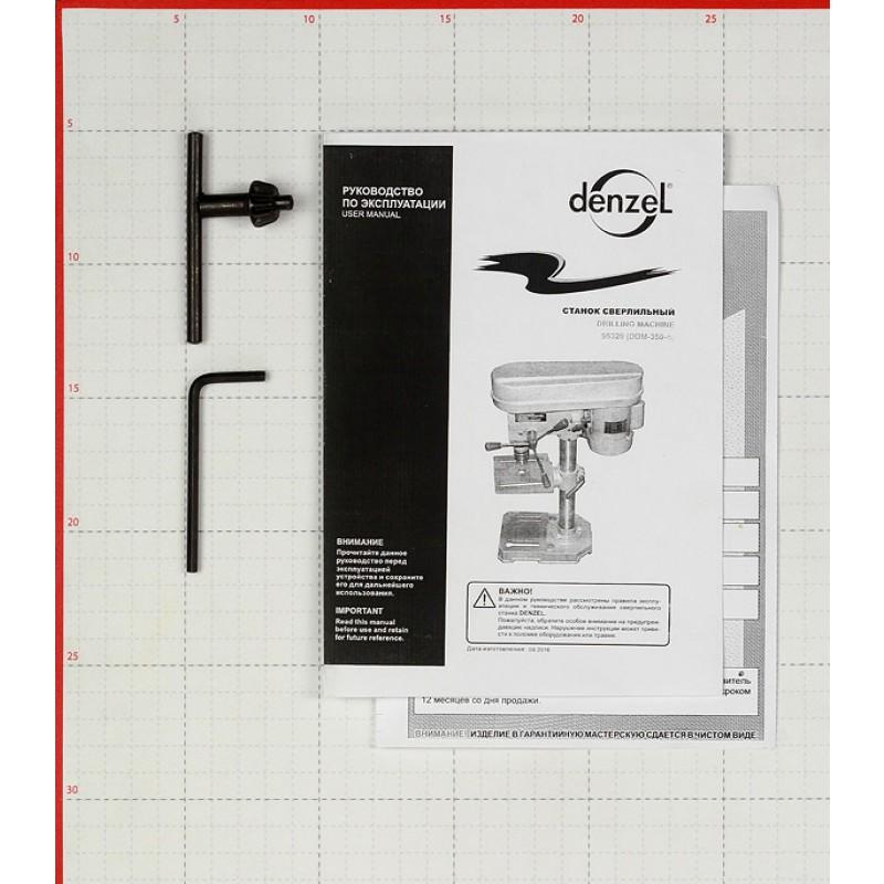 Станок сверлильный Denzel 350 Вт (фото 6)