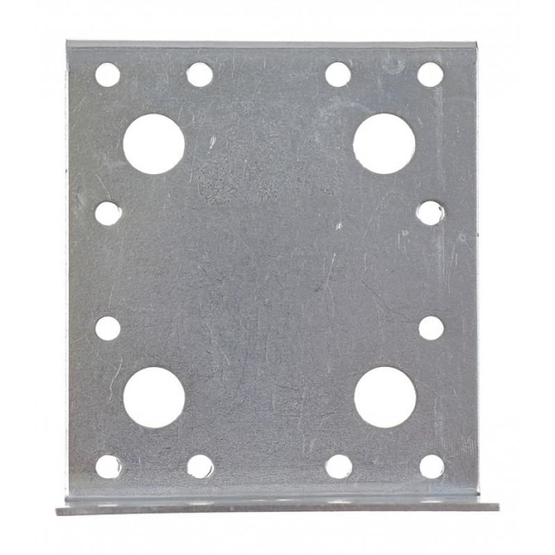Уголок крепежный Z-образный оцинкованный 55х105х90х2 мм