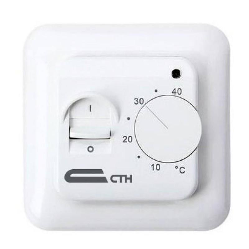 Терморегулятор механический для теплого пола СТН MT26 белый