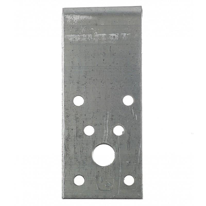 Уголок крепежный оцинкованный 90х90х40х2.5 мм