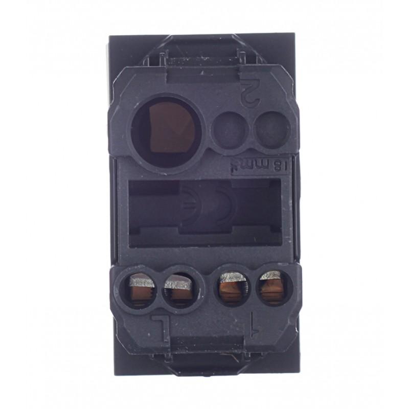 Выключатель для кабель-канала DKC Viva 45011 белый под 1 модуль
