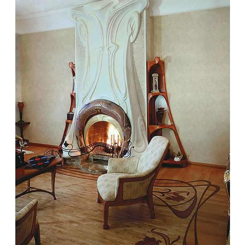 Обои виниловые на флизелиновой основе МИР Art Nouveau 46-117-09 (1,06х10 м)