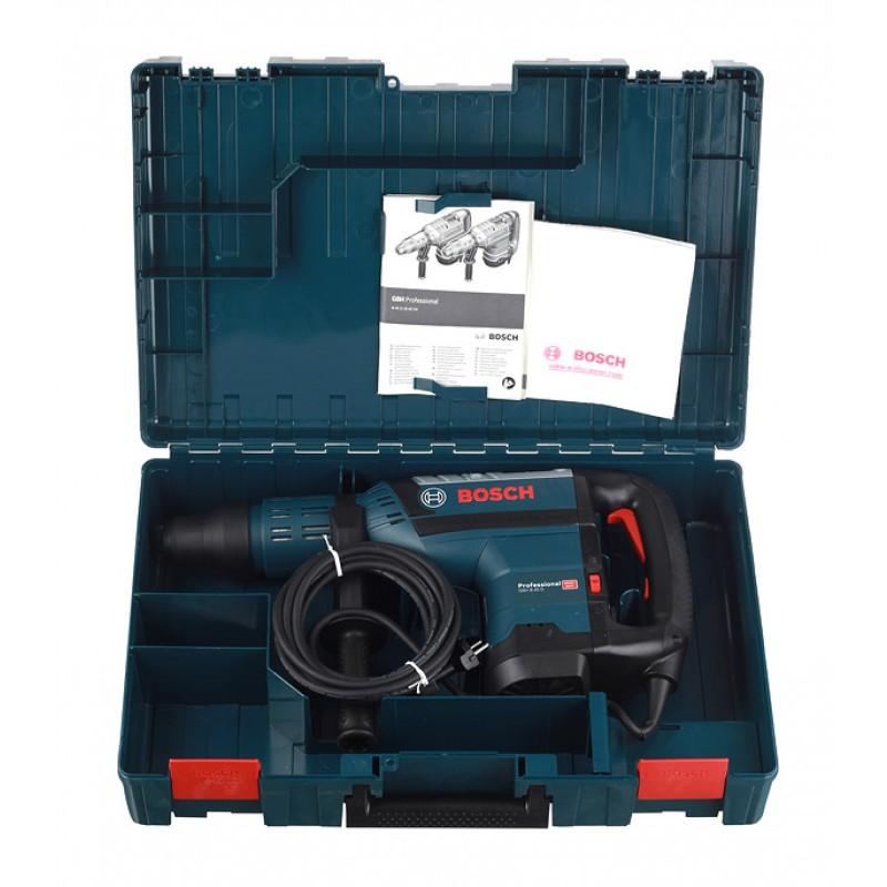 Перфоратор электрический Bosch GBH 8-45 D (0611265100) 1500 Вт 12,5 Дж SDS-max (фото 9)
