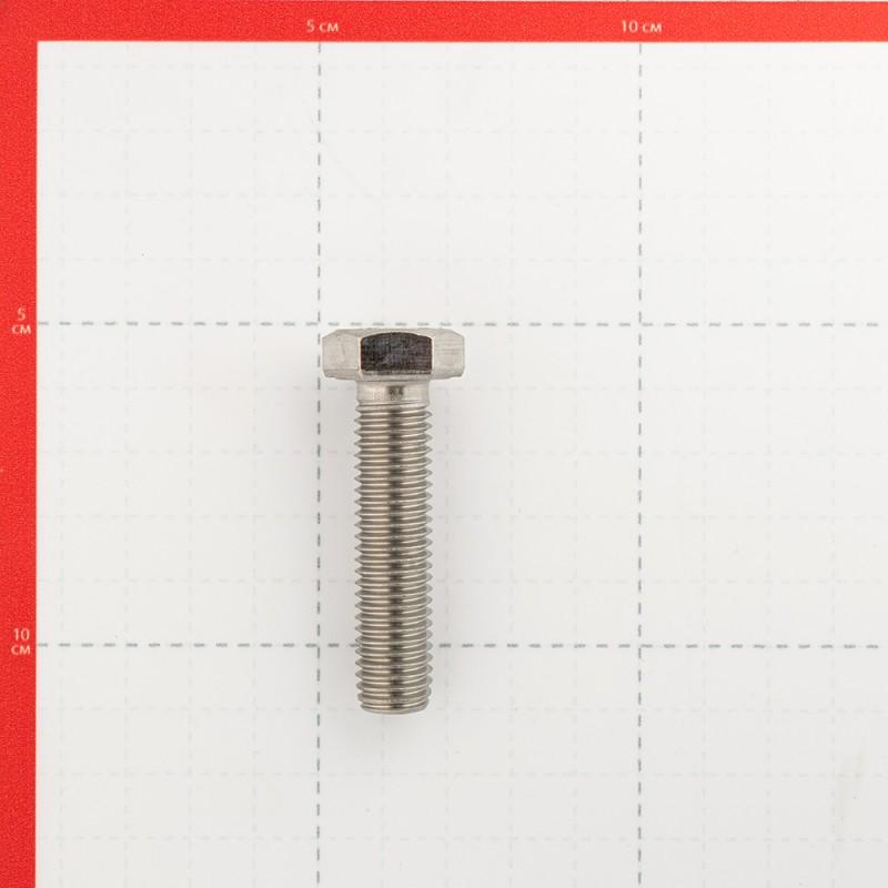 Болт нержавеющая сталь M12x50 мм DIN 933 (2 шт.) (фото 2)