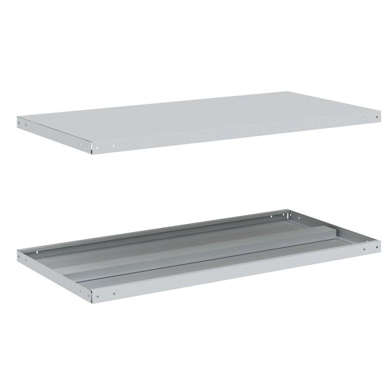 Полка для металлического стеллажа КМ 35x700x400 мм