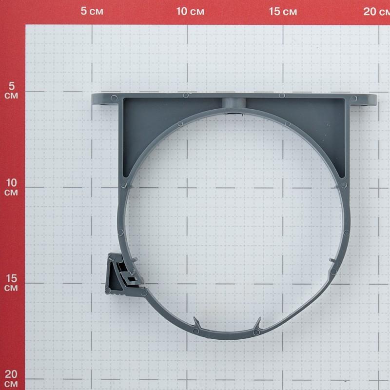Кронштейн сантехнический 110 мм пластик для крепления фановых труб