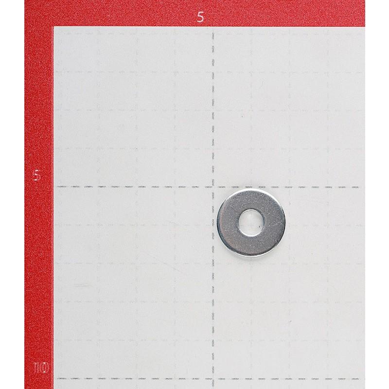 Шайба кузовная оцинкованная 6x18 мм DIN 9021 (200 шт.) (фото 2)