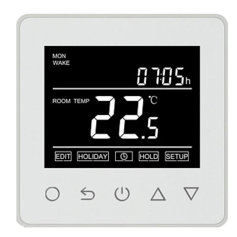 Терморегулятор электронный сенсорный для теплого пола ET61W белый с  поддержкой Wi-Fi
