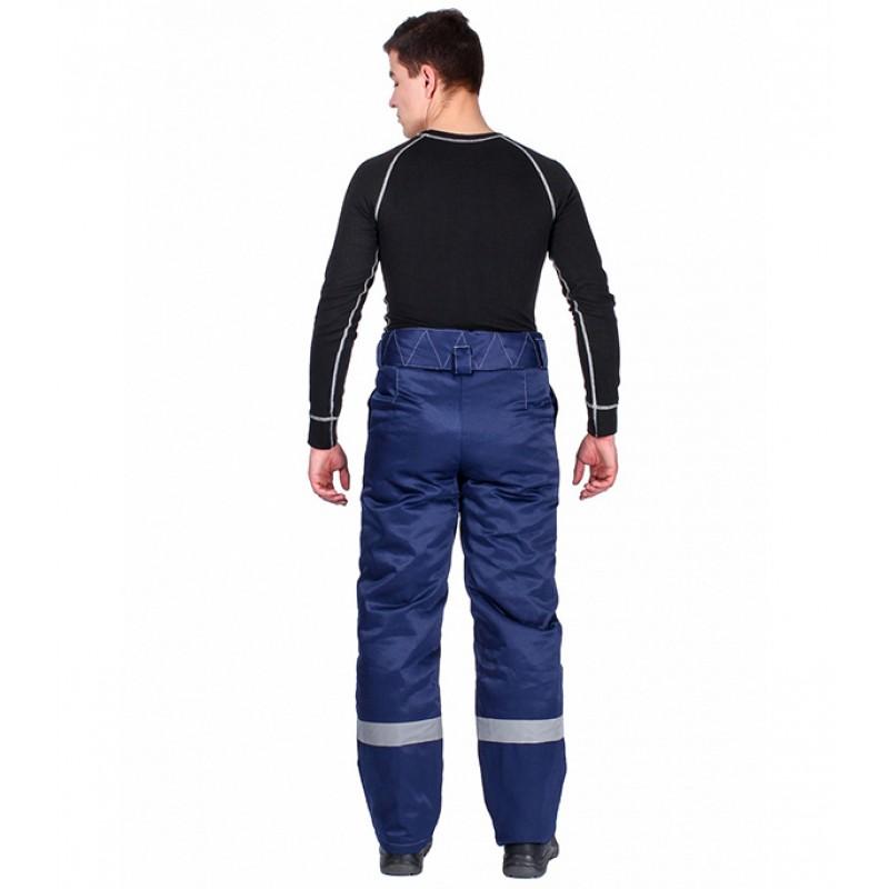 Брюки рабочие утепленные Delta Plus Экспертный-Люкс (WRUPAWLVBMTM) 44-46 рост 170-176 см цвет синий