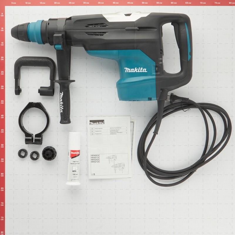 Перфоратор электрический Makita HR5202C 1510 Вт 19,1 Дж SDS-max (фото 10)
