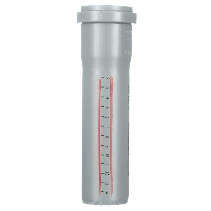 Труба канализационная Ostendorf d50x150 мм пластиковая для внутренней канализации