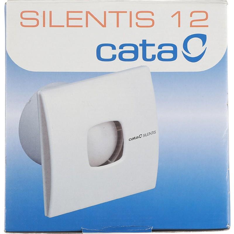 Вентилятор осевой Cata Silentis 12 170х170 мм d120 мм слоновая кость