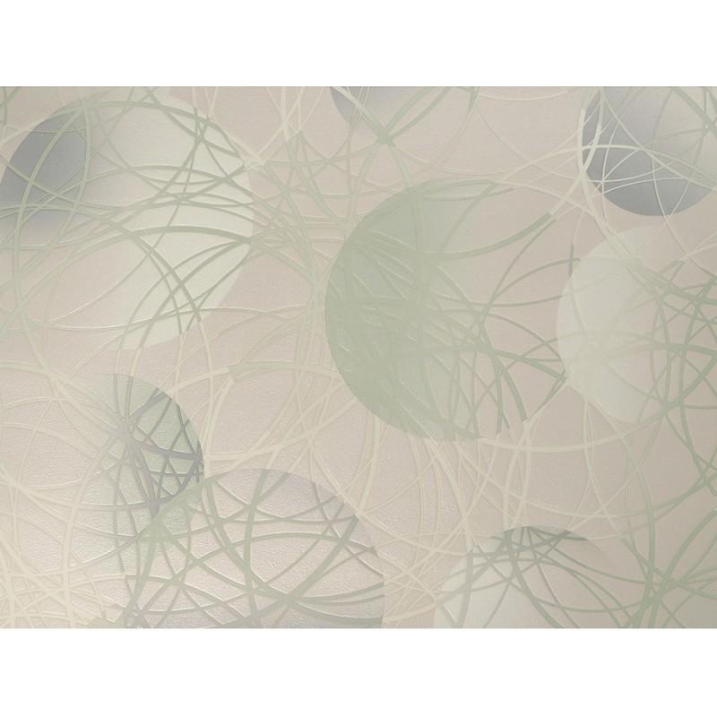 Обои виниловые на бумажной основе Elysium Круги 93510 (0,53х10,05 м)