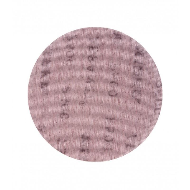 Диск шлифовальный Mirka Abranet d150 мм P500 на липучку сетчатая основа (5 шт.)