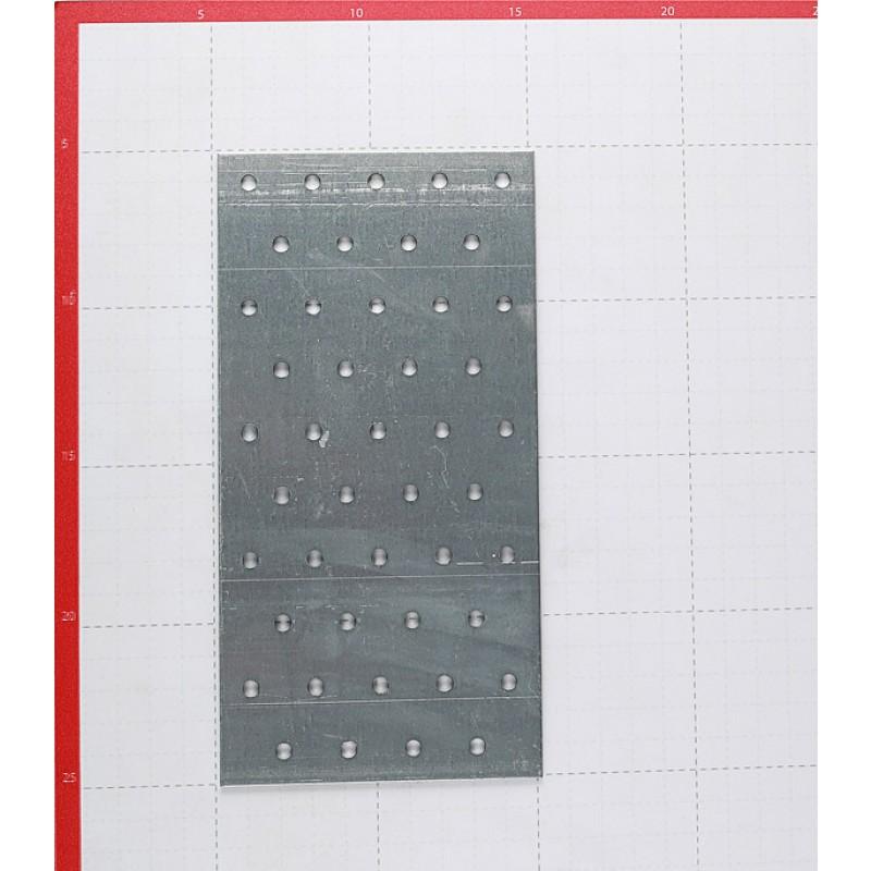 Пластина соединительная оцинкованная 200х100х1.8 мм